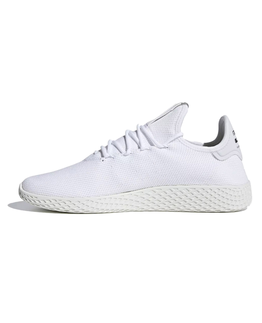 PHARRELL WILLIAMS TENNIS HU SHOES WHITE
