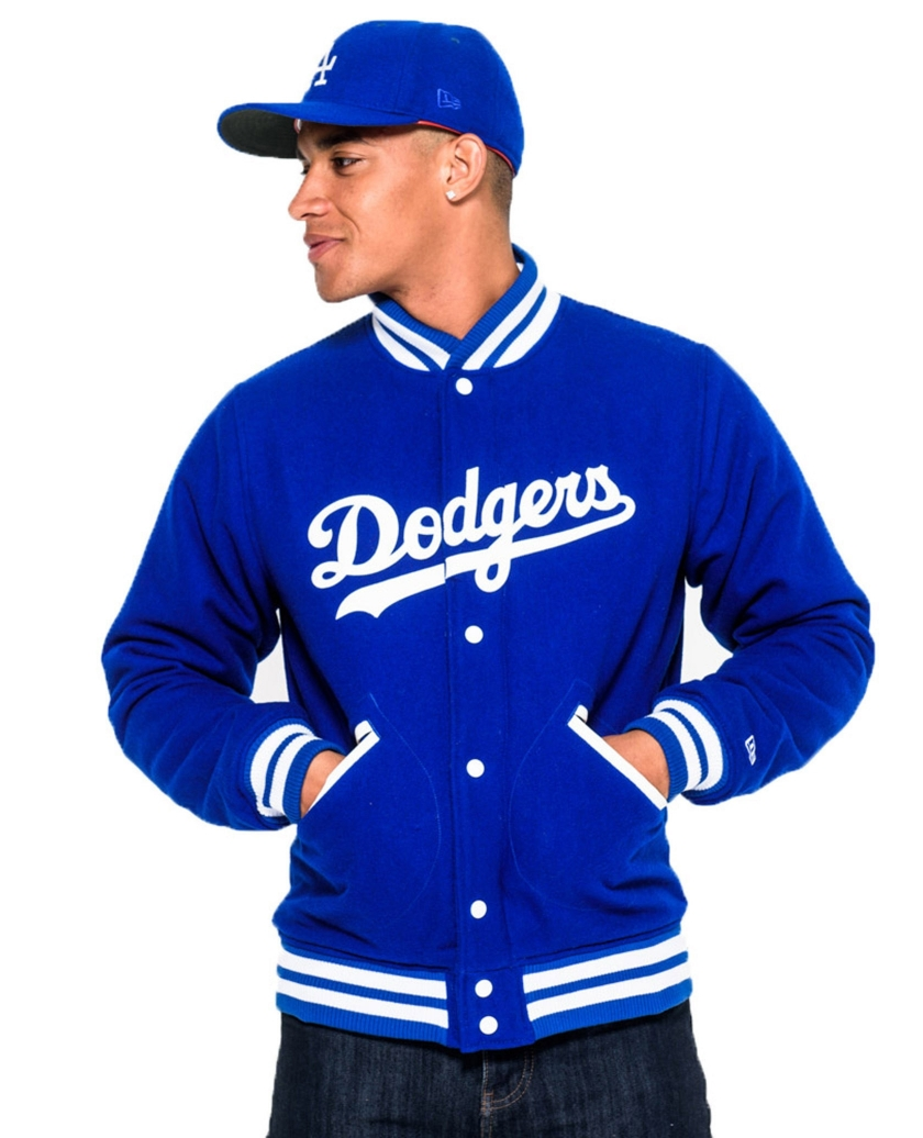 BROOKLYN DODGERS HERITAGE BLUE VARSITY JACKET
