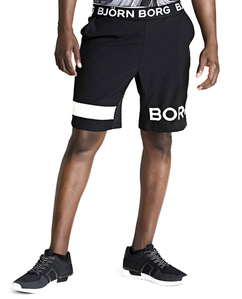 02f13485 Run like the wind in these sleek Björn Borg August Shorts, designed for  maximum performance thanks to a four-way stretch woven fabric.