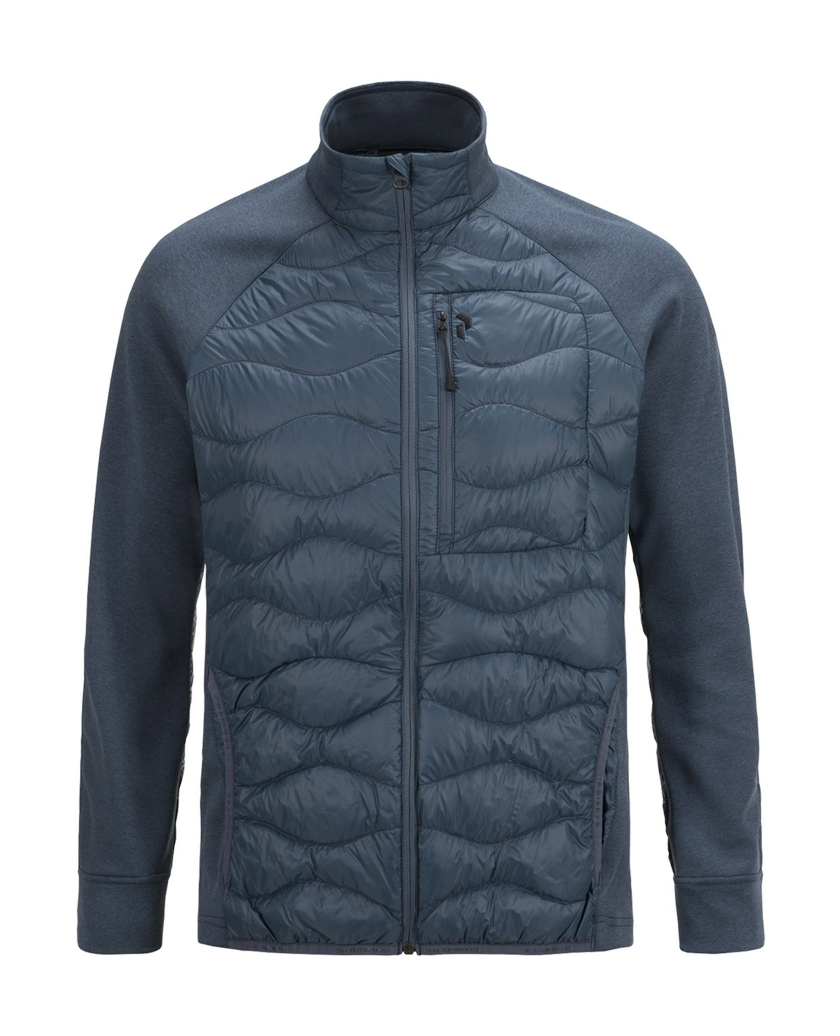 MEN'S HELI HYBRID JACKET BLUE STEEL
