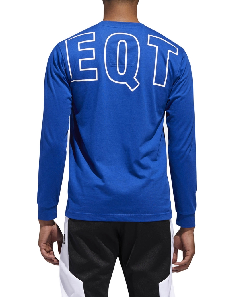 EQT GRAPHIC TEE COLLEGIATE ROYAL