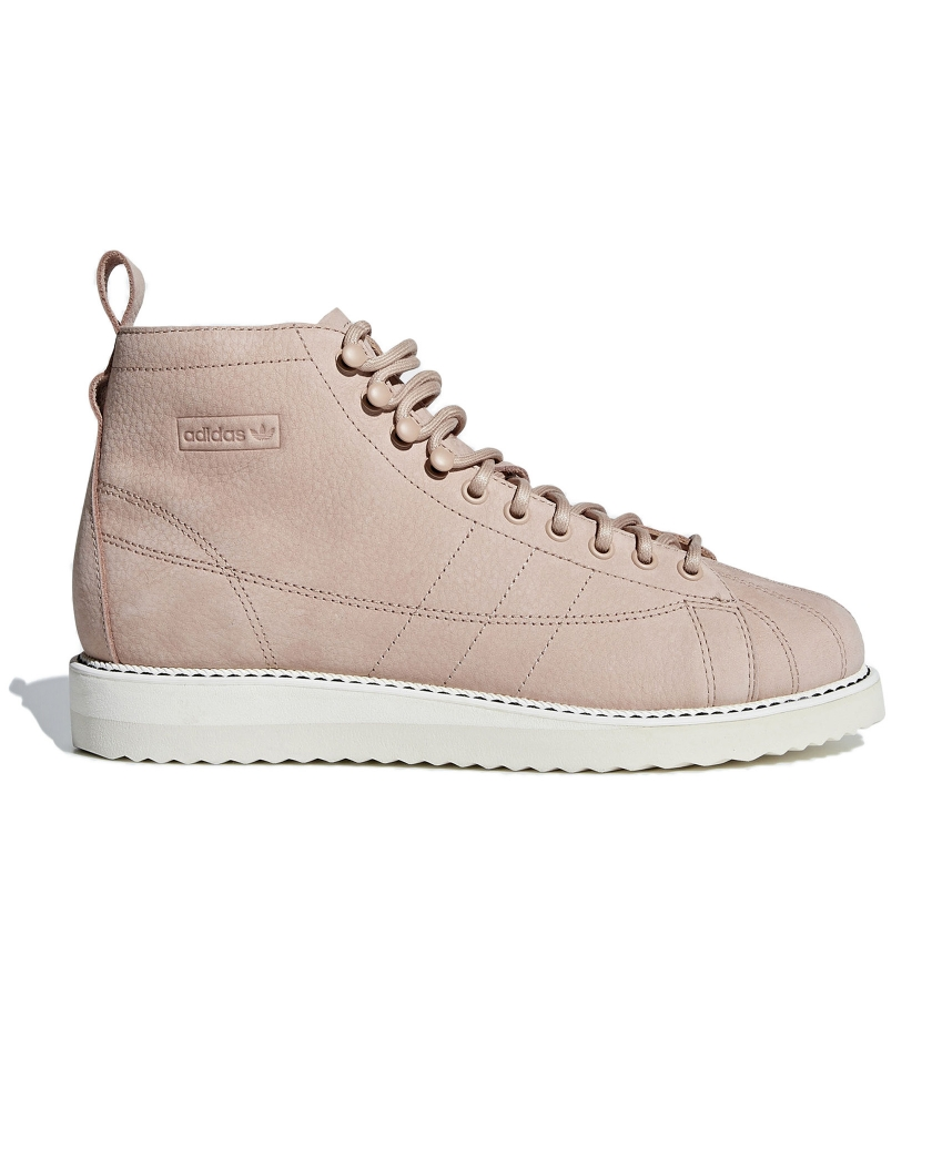 huge discount 57acb c4b4f ADIDAS SUPERSTAR SHOES REIMAGINED AS LUXE COMBAT BOOTS.