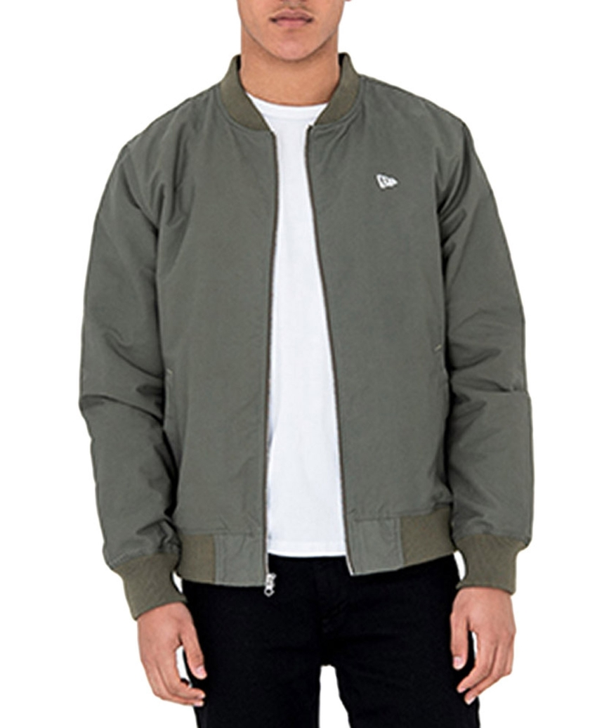 GREEN SHERPA BOMBER JACKET