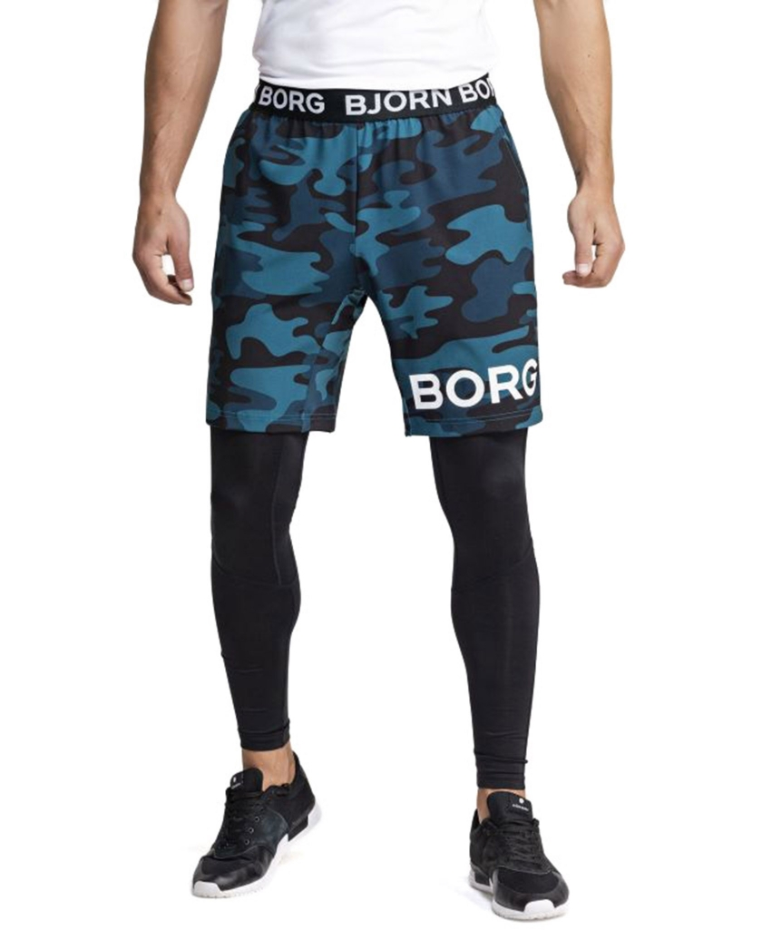 BJORN BORG AUGUST SHORTS MULTI