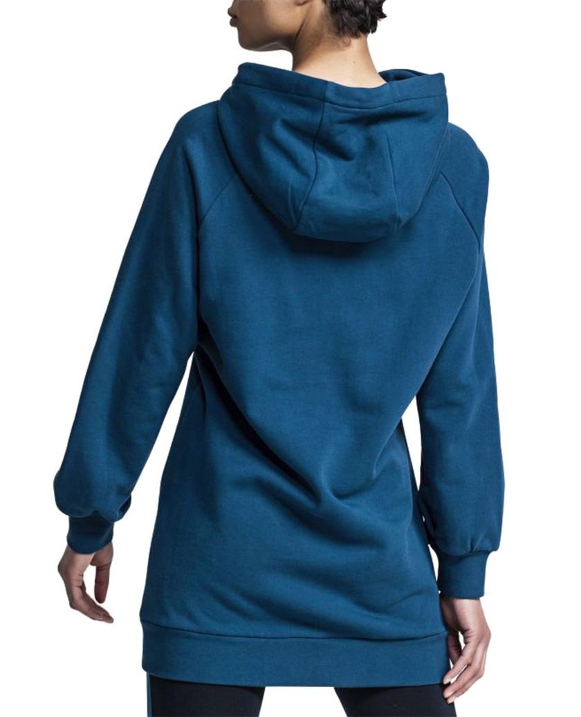 HOODIE DRESS BLUE
