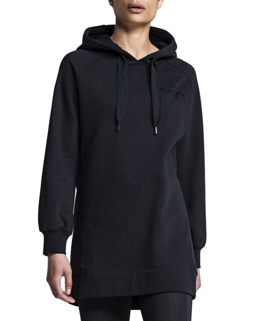 BJORN BORG CHARLOTTE HOODIE DRESS BLACK