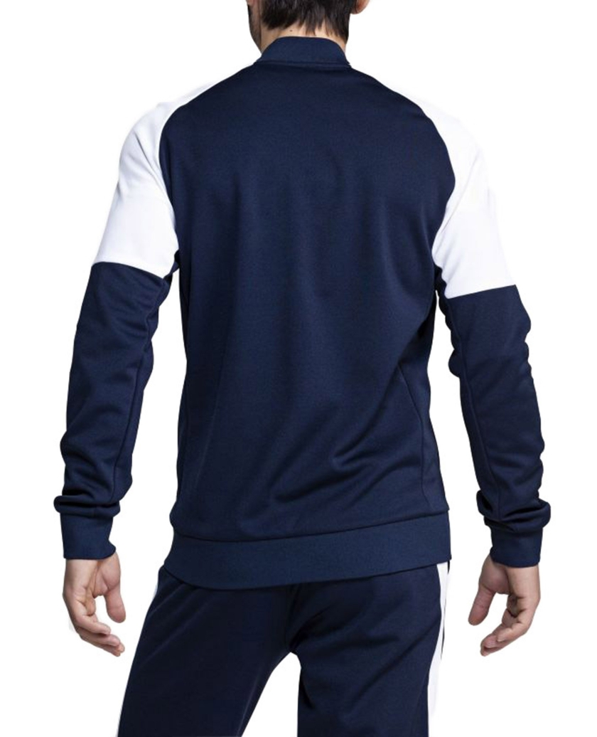 BJORN BORG SIGNATURE BLOCKED TRACK JACKET NAVY