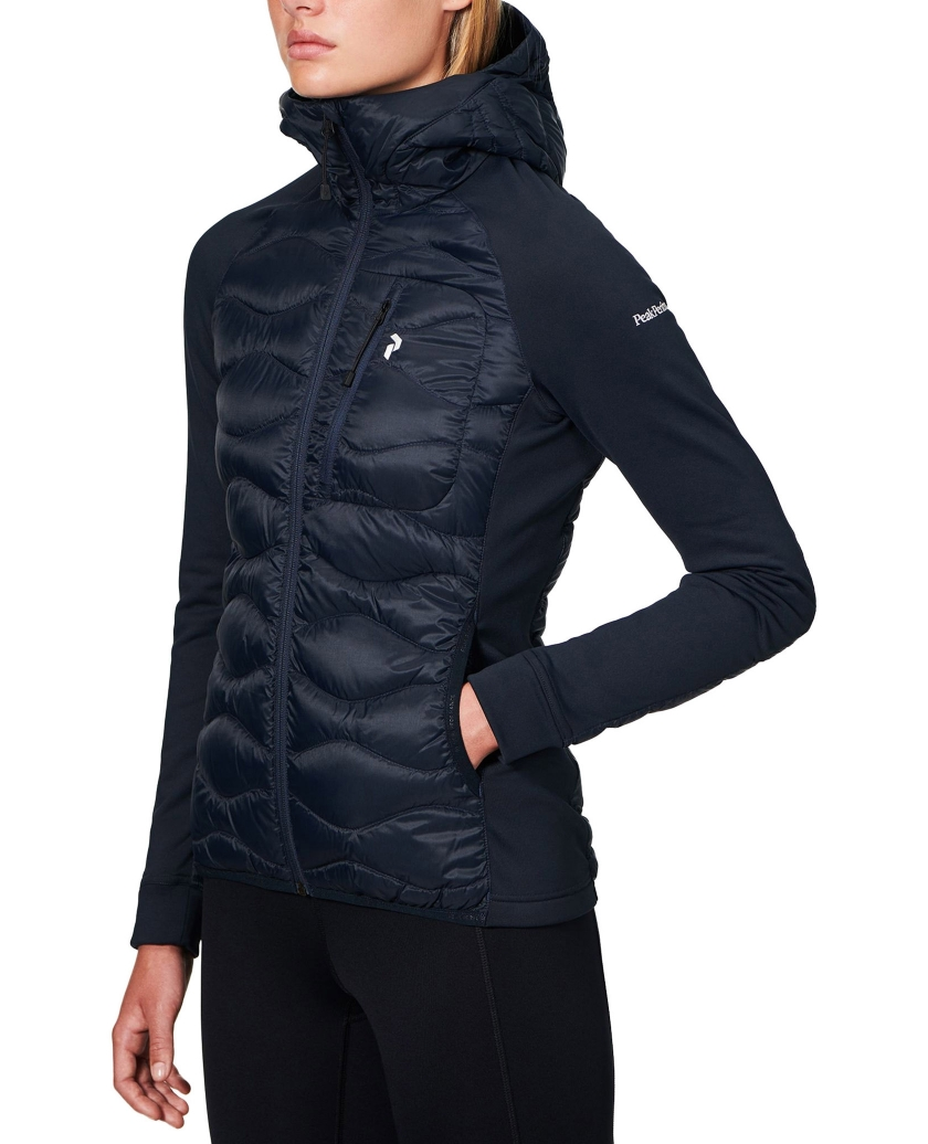 WOMEN'S DOWN HELIUM HYBRID HOOD JACKET