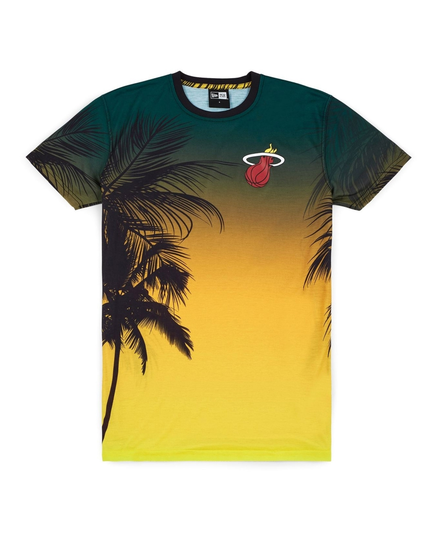 MIAMI HEAT COASTAL HEAT TEE