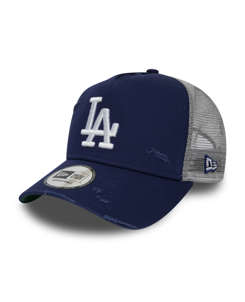 LOS ANGELES DODGERS TRUCKER DISTRESSED