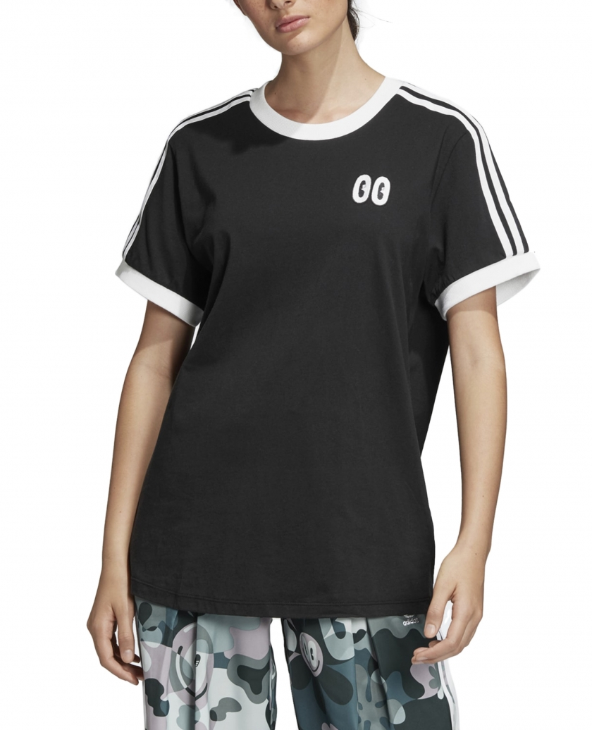 3-STRIPES TEE BLACK