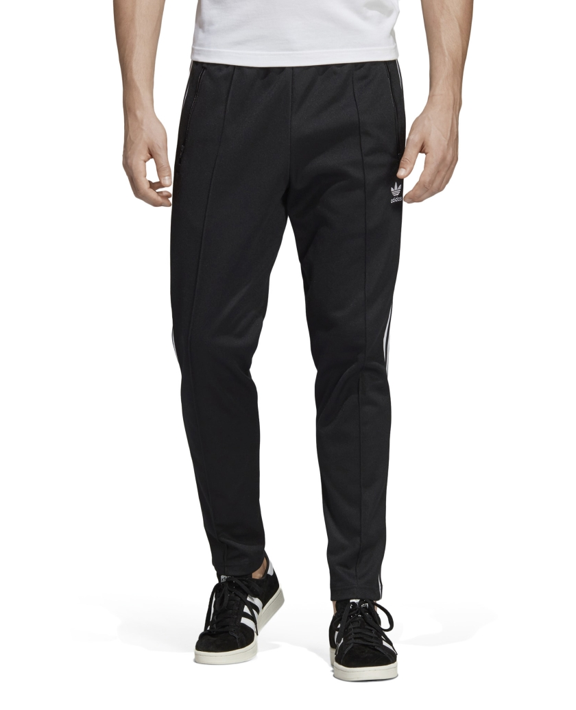 BECKENBAUER TRACK PANTS BLACK