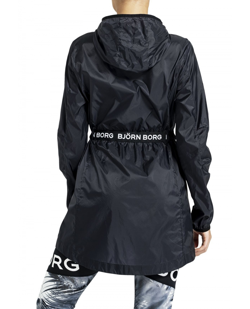 BJÖRN BORG CANAN COAT BLACK BEAUTY
