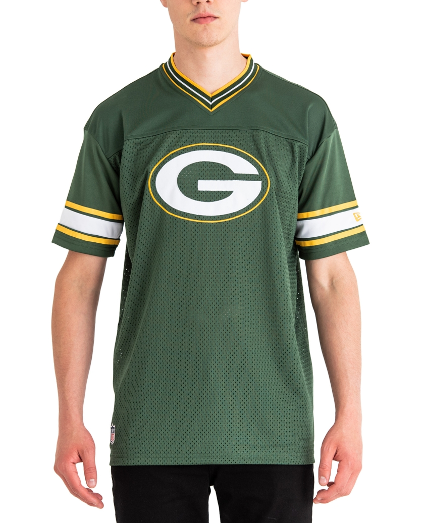 GREEN BAY PACKERS TEAM LOGO OVERSIZED TEE