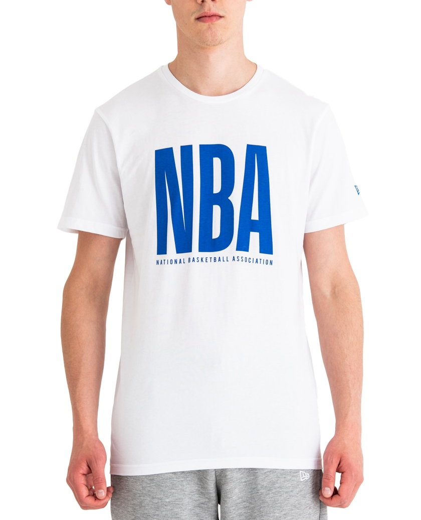 NBA WORDMARK WHITE TEE
