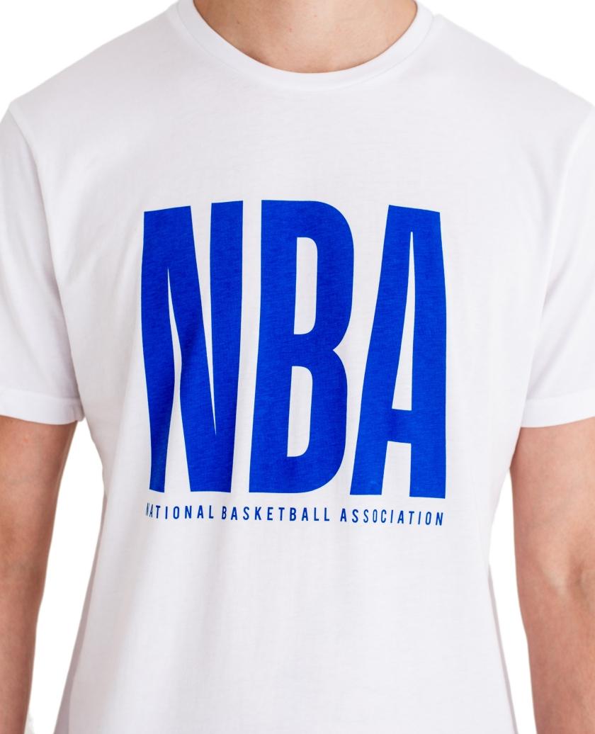 NBA WORDMARK WHITE TEE