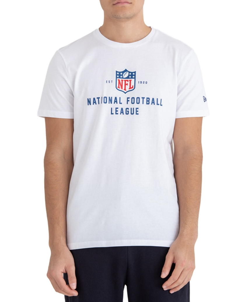 NFL LOGO ESTABLISHED WHITE TEE