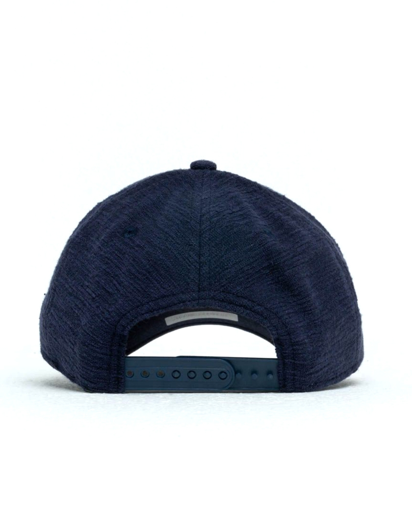NEW ERA 9FORTY SLUB SNAPBACK CAP NAVY