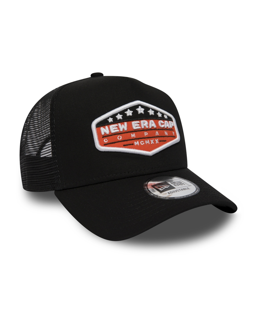 NEW ERA PATCH BLACK A FRAME TRUCKER