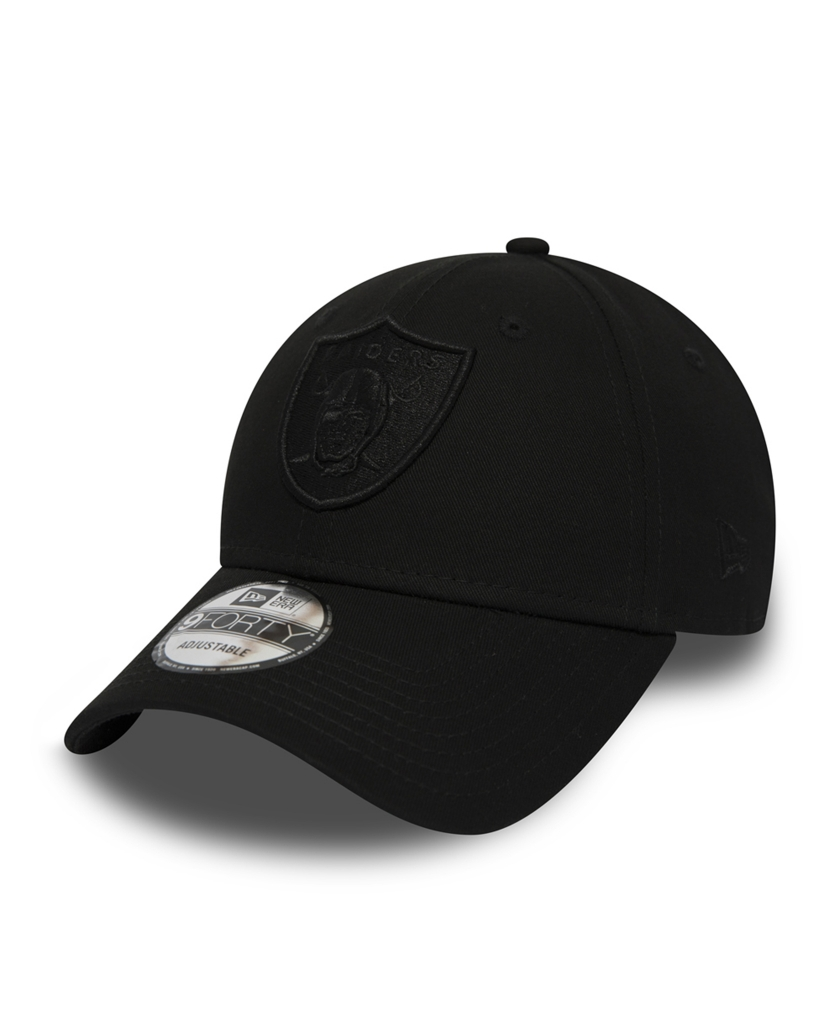 OAKLAND RAIDERS BLACK ON BLACK 9FORTY SNAPBACK