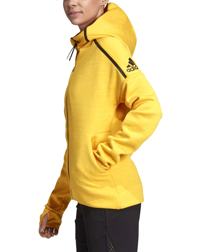 ADIDAS W Z.N.E. FAST RELEASE HOODIE ACTIVE GOLD