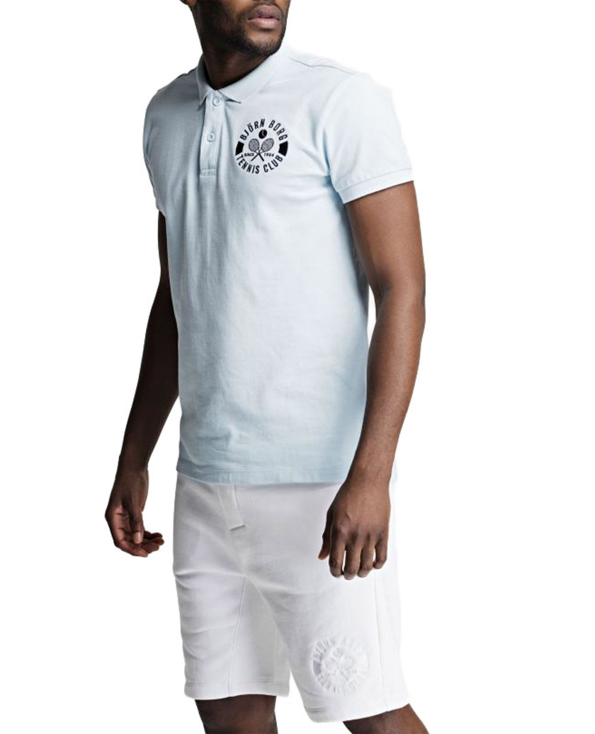BJÖRN BORG SUMMER TENNIS CLUB POLO BLUE