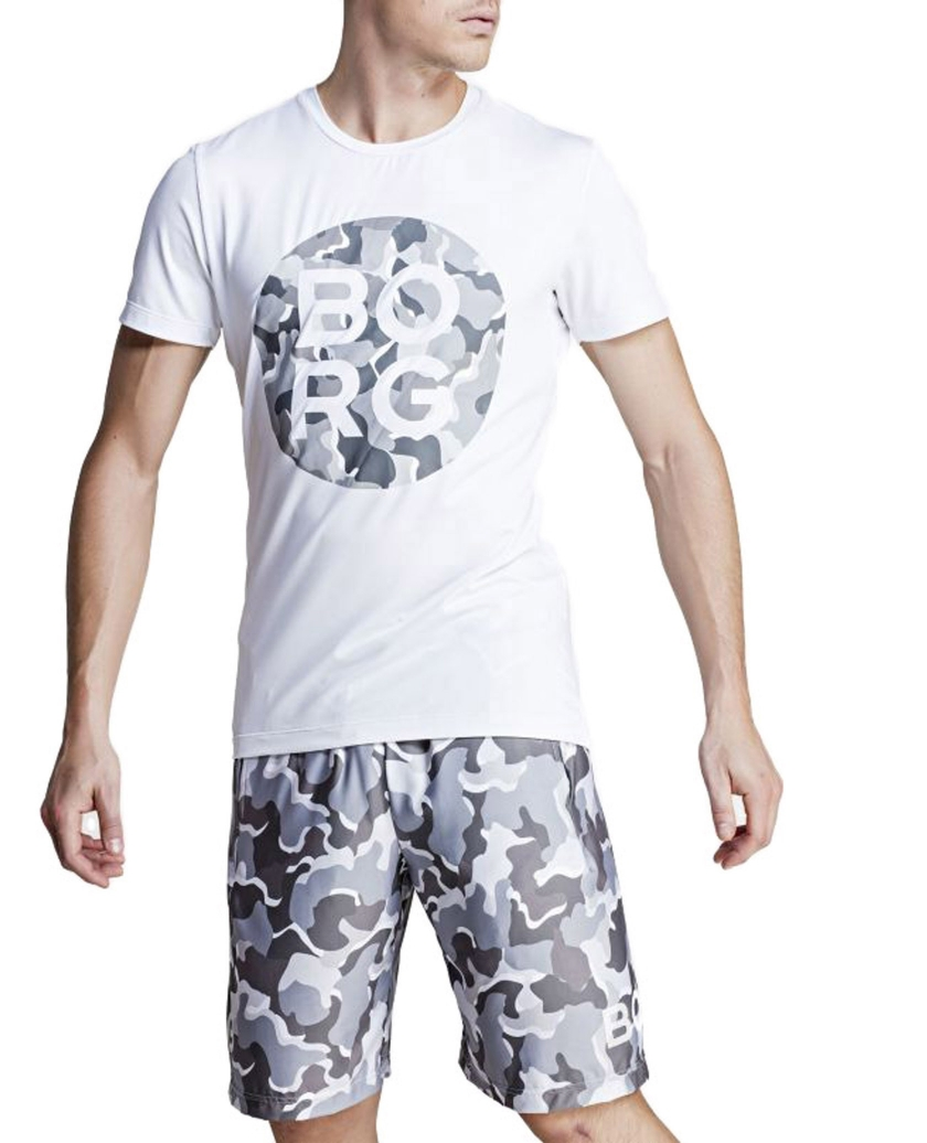 BJÖRN BORG GRAPHIC TEE WHITE