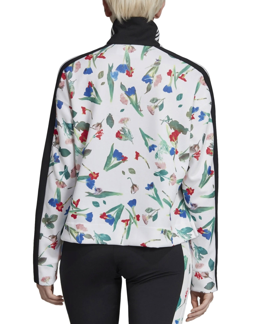 ALLOVER PRINT TRACK JACKET