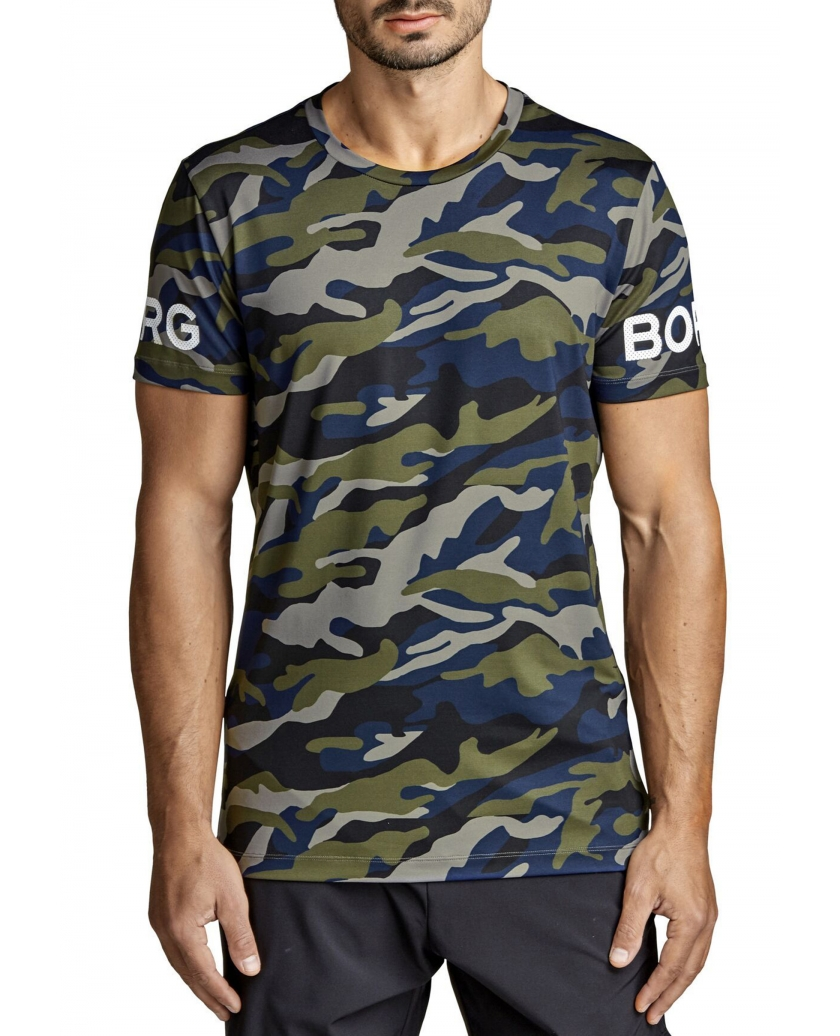 BORG TEE MULTI CAMO FOREST NIGHT