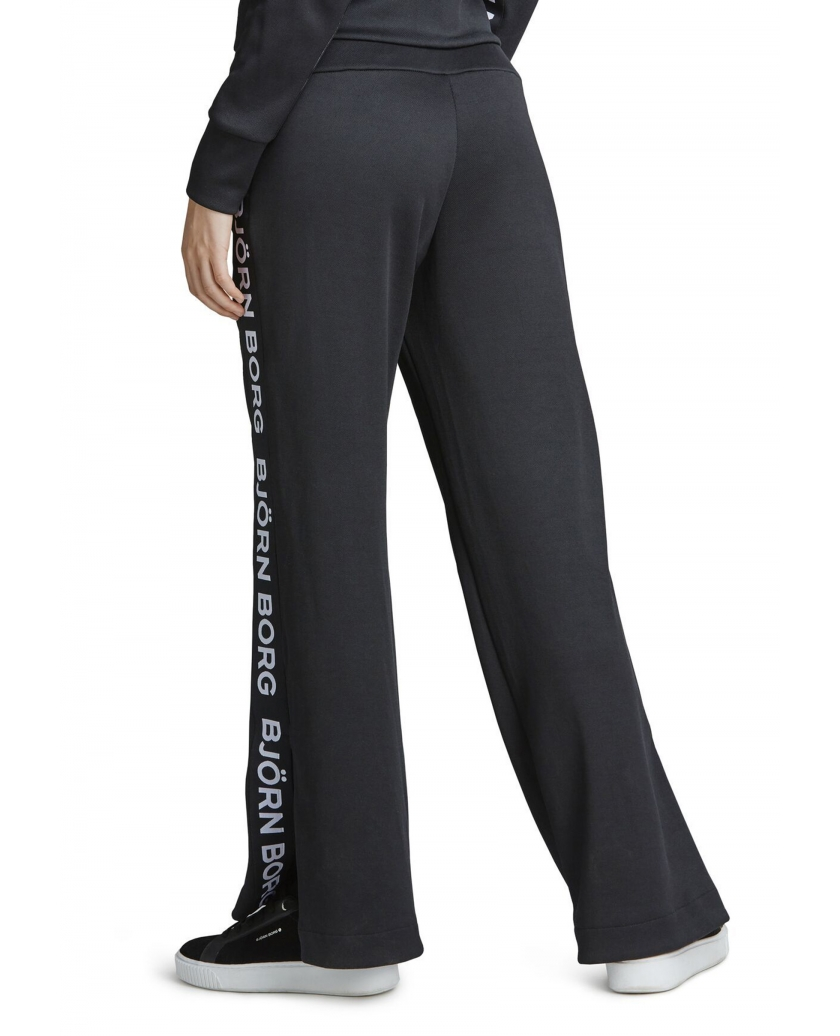 BORG WIDE TRACK PANTS BLACK BEAUTY