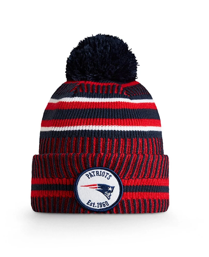 NEW ENGLAND PATRIOTS OFFICIAL NFL ON FIELD HOME KNIT