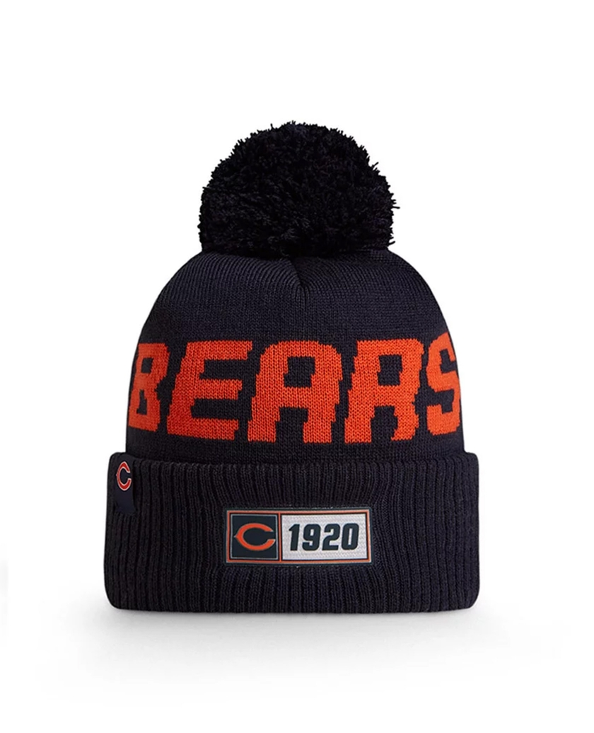 CHICAGO BEARS OFFICIAL NFL ON FIELD KNIT