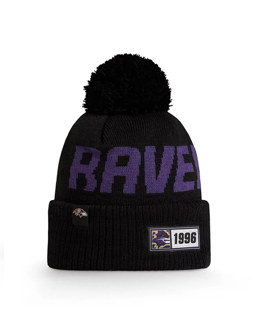 BALTIMORE RAVENS OFFICIAL NFL ON FIELD KNIT