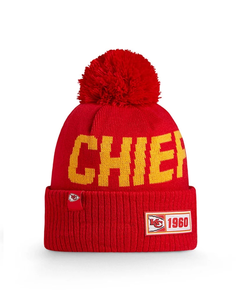 KANSAS CITY CHIEFS OFFICIAL NFL ON FIELD KNIT
