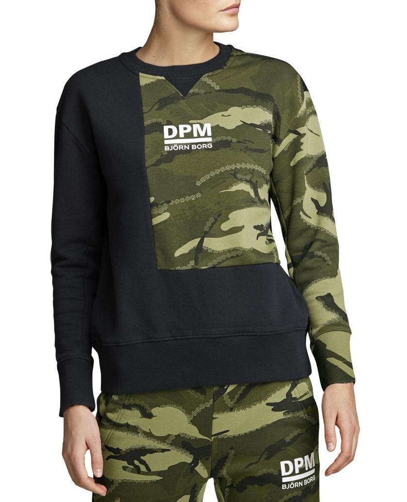 BORG DPM CREW GREEN W