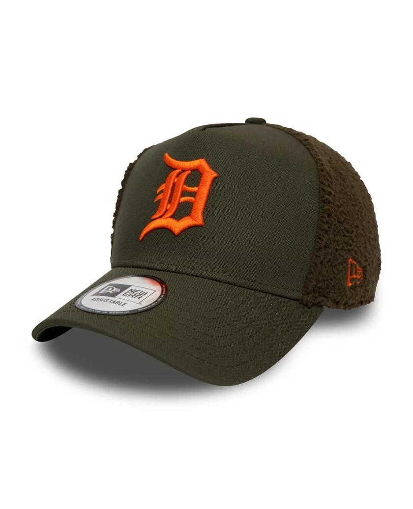 DETROIT TIGERS SHERPA GREEN TRUCKER CAP