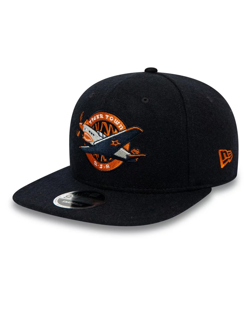 LAKELAND TIGERS VINTAGE WOOL BLACK 9FIFTY CAP