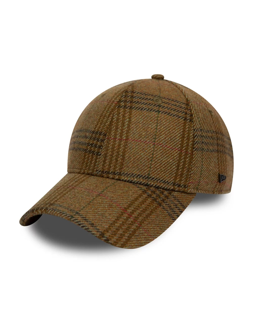 NEW ERA OVERCHECK BROWN 9FORTY CAP