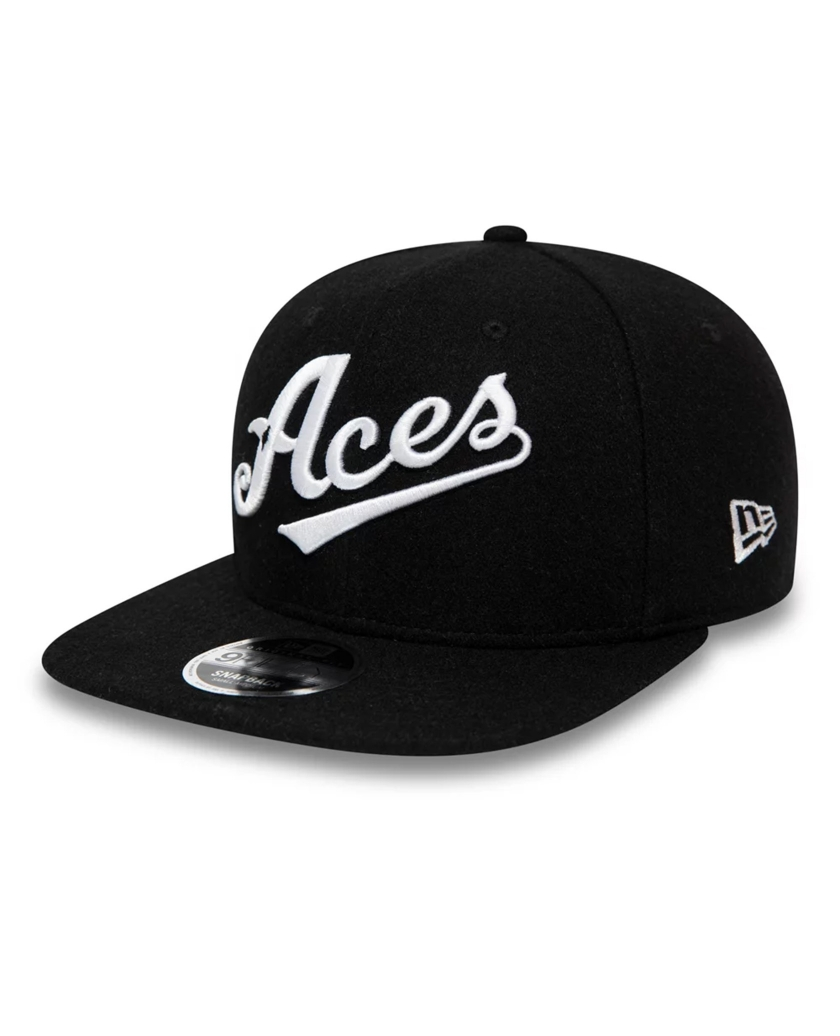 RENO ACES VINTAGE WOOL BLACK 9FIFTY CAP