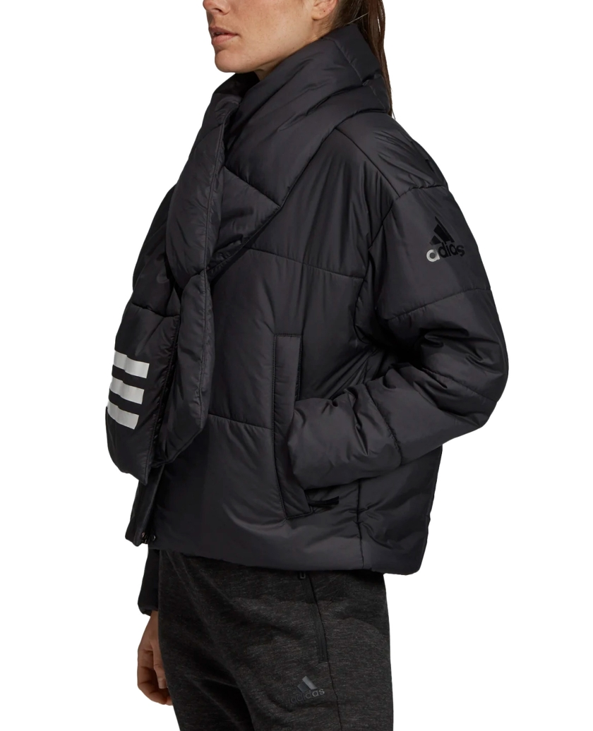 BIG BAFFLE BOMBER JACKET W