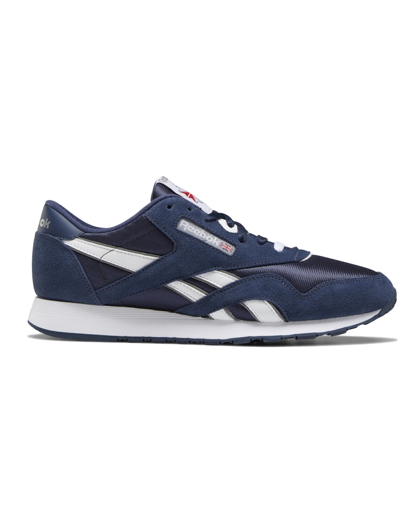 REEBOK CLASSIC NYLON SHOES NAVY