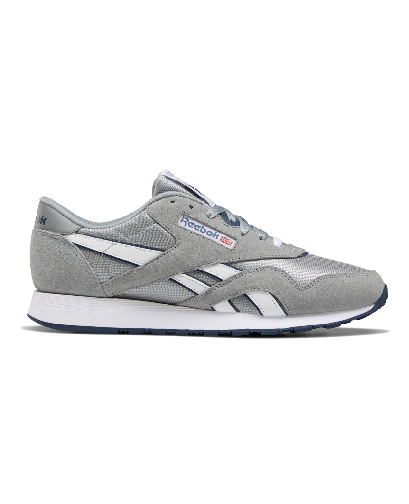 REEBOK CLASSIC NYLON SHOES PLATINUM