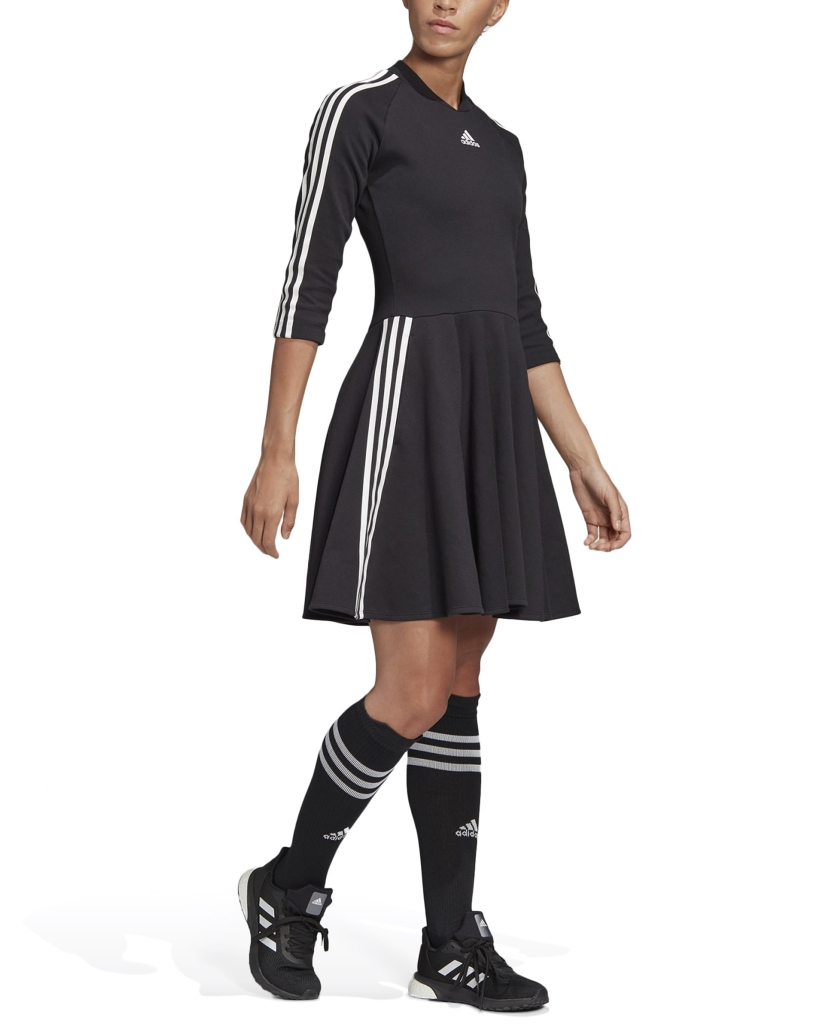 3-STRIPES DRESS BLACK W