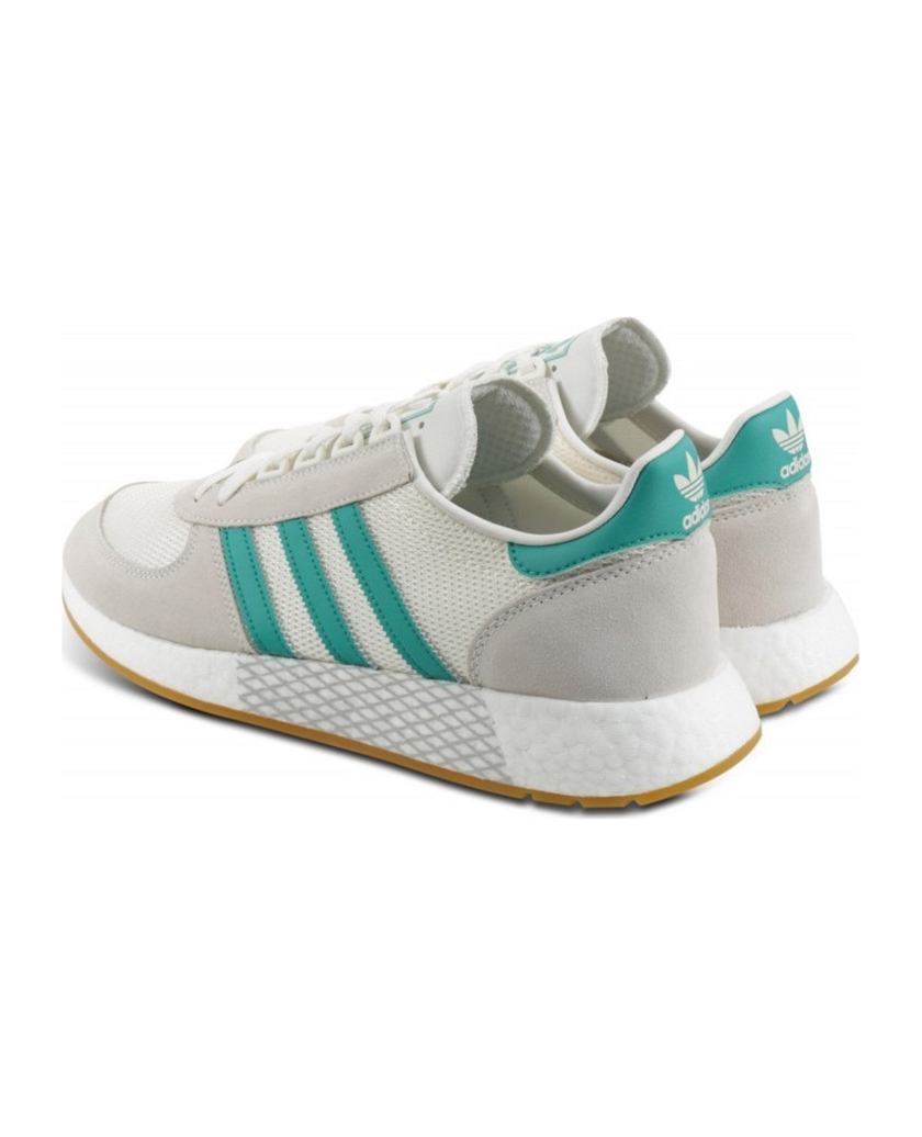 MARATHON TECH SHOES OFF-WHITE GREEN