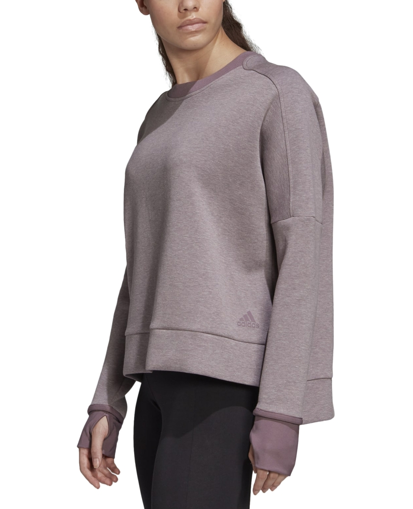MUST HAVES VERSATILITY CREW SWEATSHIRT