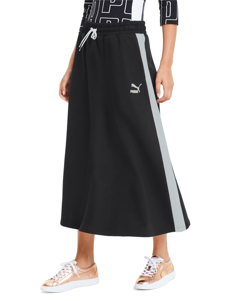 PUMA CLASSICS LONG WOMEN'S SKIRT BLACK
