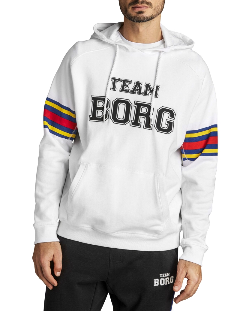 TEAM BORG HOOD BRILLIANT WHITE