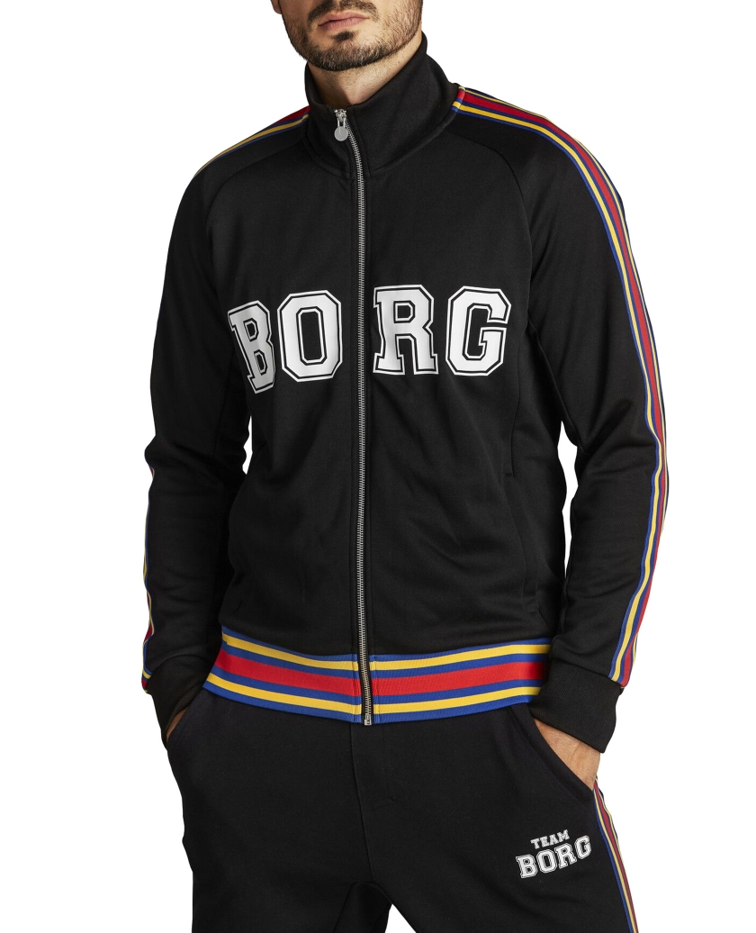 TEAM BORG TRACK JACKET BLACK BEAUTY