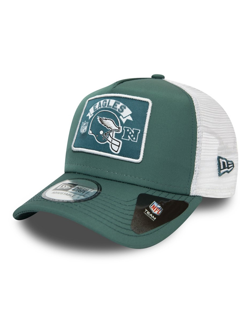 PHILADELPHIA EAGLES PATCH BLUE A-FRAME TRUCKER