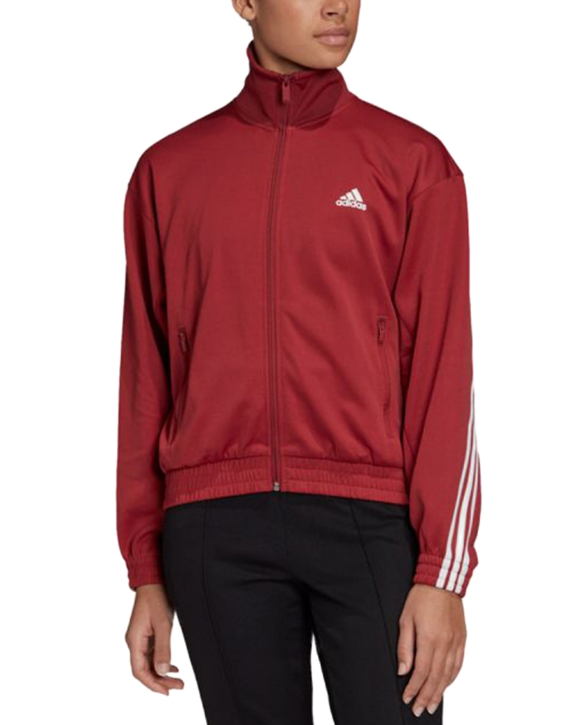 ADIDAS W MH TRACK JKT LEGEND RED